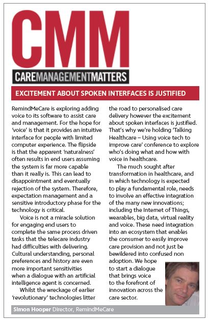 Care Management Matters