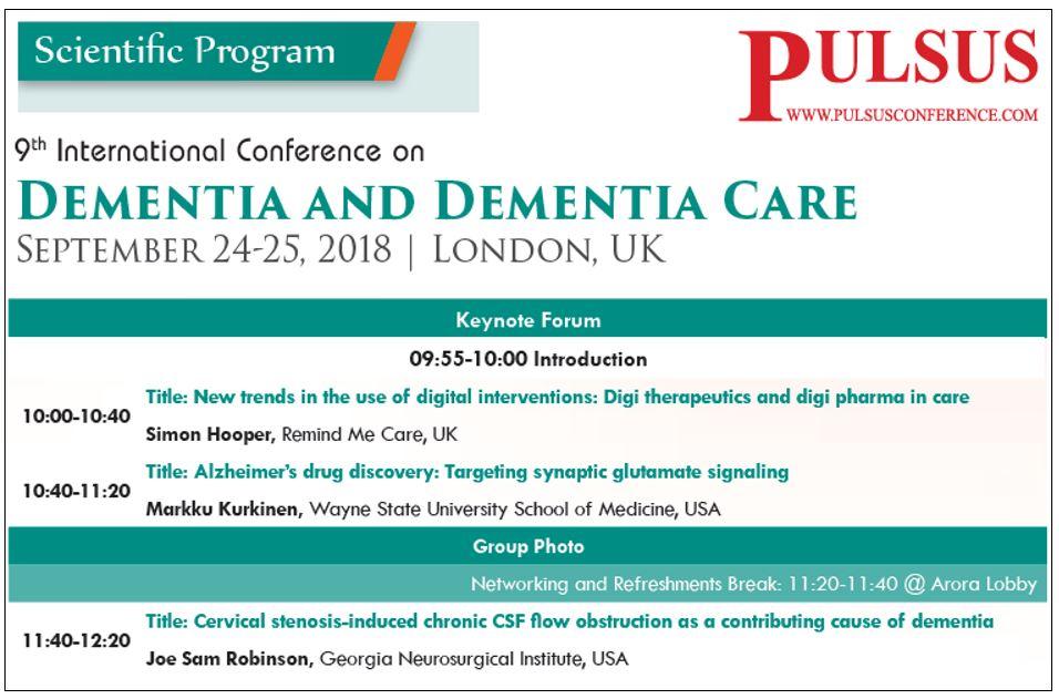 Pulsus dementia care conference
