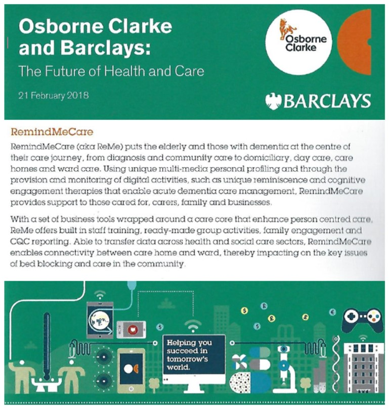 Barclays Osbourne Clarke Future of Healthcare
